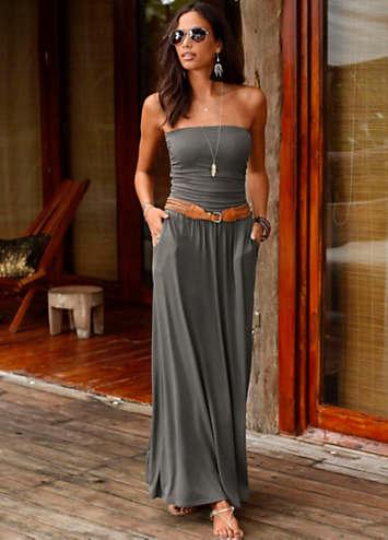 ed790e93b85 LASCANA Bandeau Maxi Dress | LASCANA