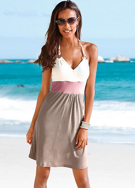 e91d1ec24ad Beachtime Colour Block Beach Dress