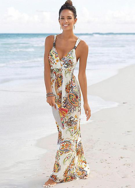 Genieße den niedrigsten Preis neuesten Stil von 2019 anerkannte Marken LASCANA Paisley Print Maxi Dress