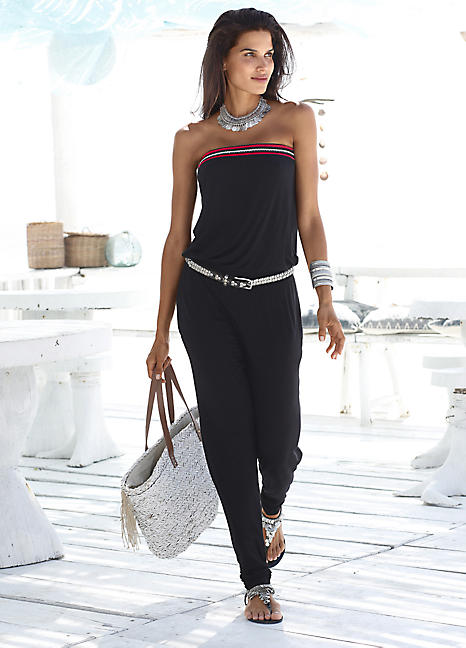 s oliver red label jumpsuit by s oliver lascana. Black Bedroom Furniture Sets. Home Design Ideas