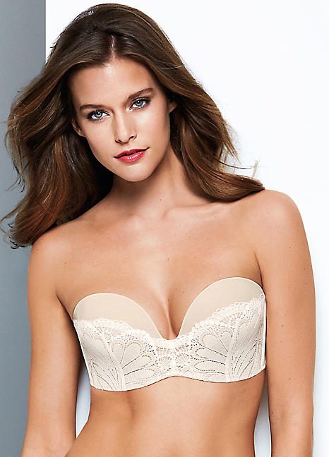 new & pre-owned designer select for clearance new concept Wonderbra Refined Glamour Strapless Bra